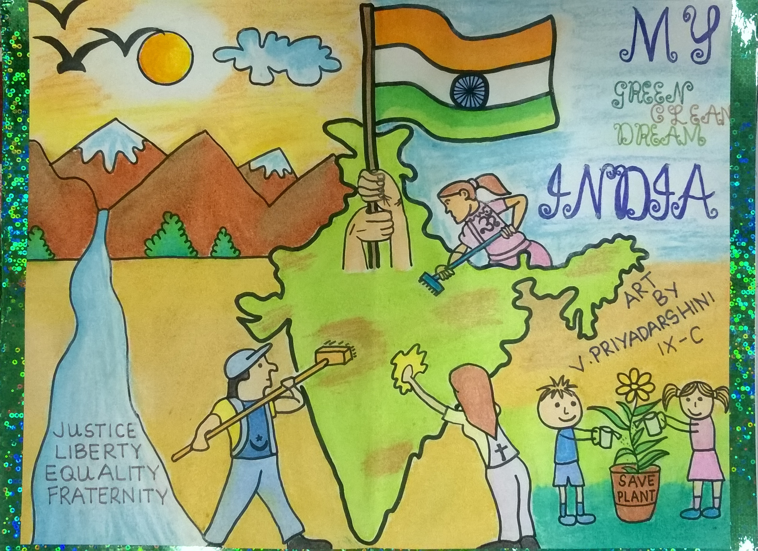 dreams of india In the india of my dreams, there will be peace and harmony every citizen will be literate india will reach great heights it will be free of violence, terrorism, hunger and suffering it will be fil.